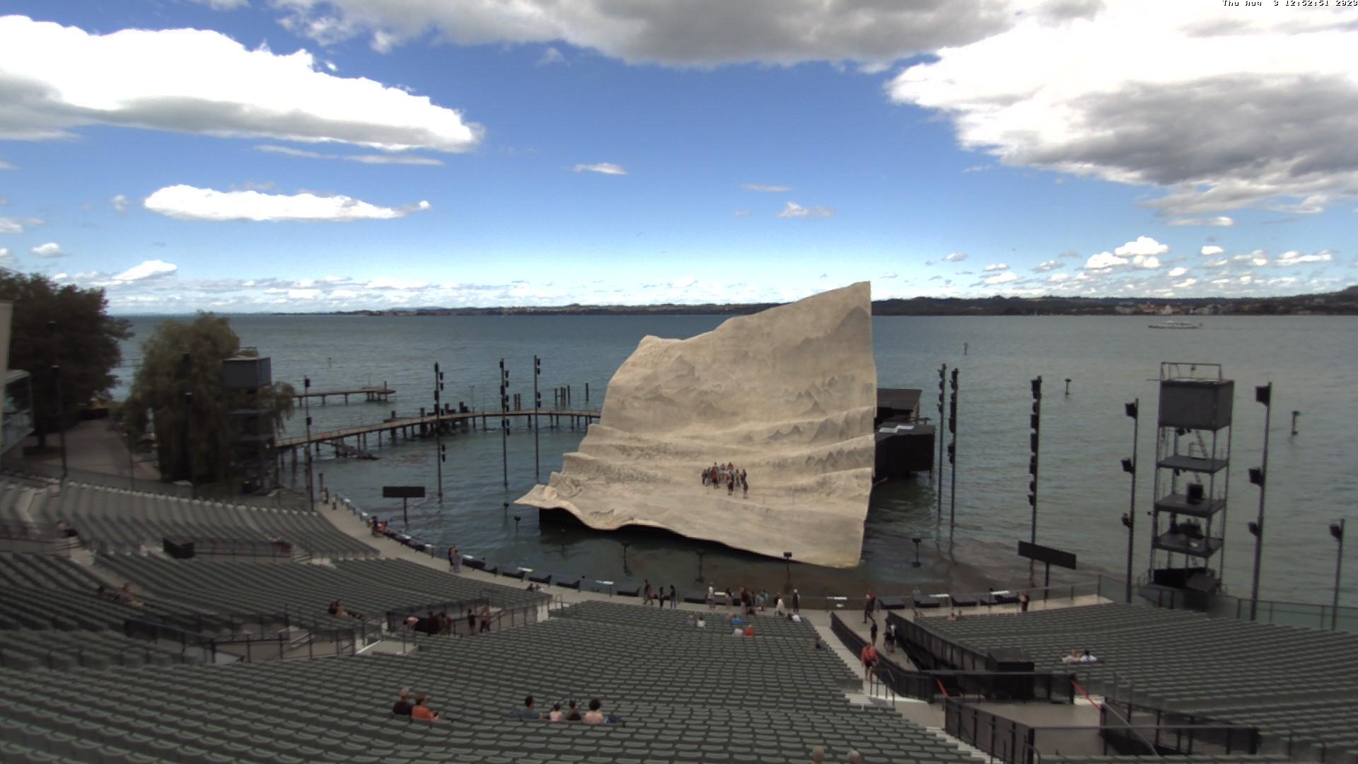 Bregenzer Festspiele (View from lake stage)